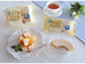 モンテール、チルド焼菓子シリーズ「12P ひとくちバウム(バター)」「食べきりバウム(バター)」