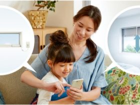 LIXIL、スマホやリモコンで高所用窓・シャッターの自動開閉を可能にする製品