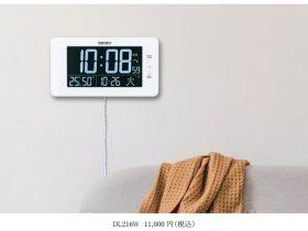 セイコーHD、セイコータイムクリエーションが交流式デジタル時計「C3MONOシリーズ」より掛置兼用の大型モデル